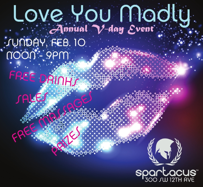 Love You Madly: Our Annual V-Day Event